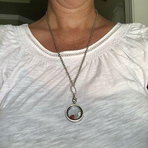 Origami Owl Locket necklace